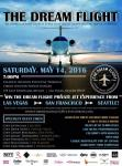 The Dream Flight to Benefit Miracle Flights and Nevada Partnership for Homeless Youth Charitable Event with West Coast Foodie Trip
