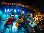 """Eli Young Band Delivers Booming Performance at Fremont Street Experience During """"Downtown Rocks"""" on July 4"""
