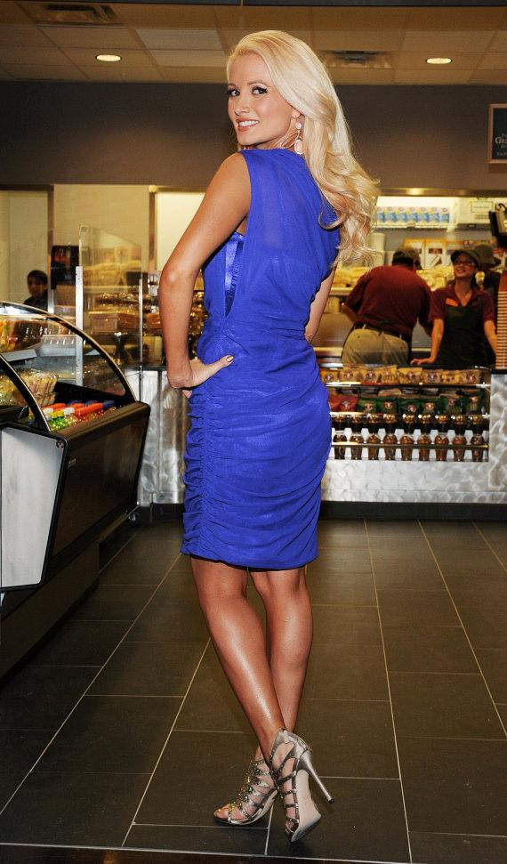 Holly Madison appears at the Opening of Earl of Sandwich at Palms Casino Resort