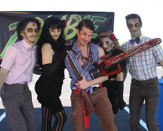 Evil Dead takes on the Undead at Las Vegas Zombie Run