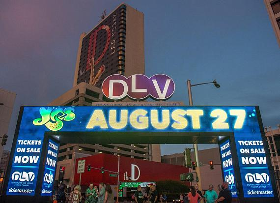 Progressive Rock pioneers Yes perform at the Downtown Las Vegas Events Center