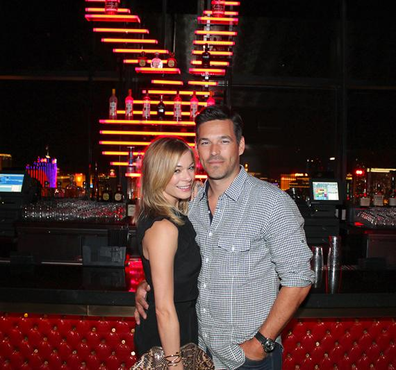Actor Eddie Cibrian and wife LeAnn Rimes