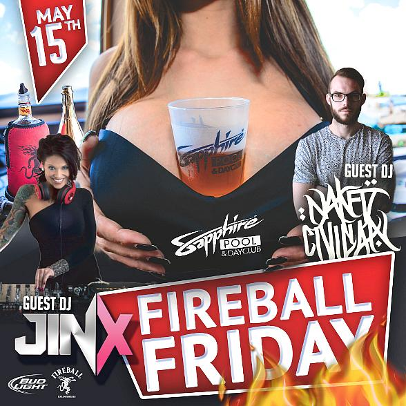 Naked Civilian and DJ Jinx to host at Sapphire Pool & DayClub