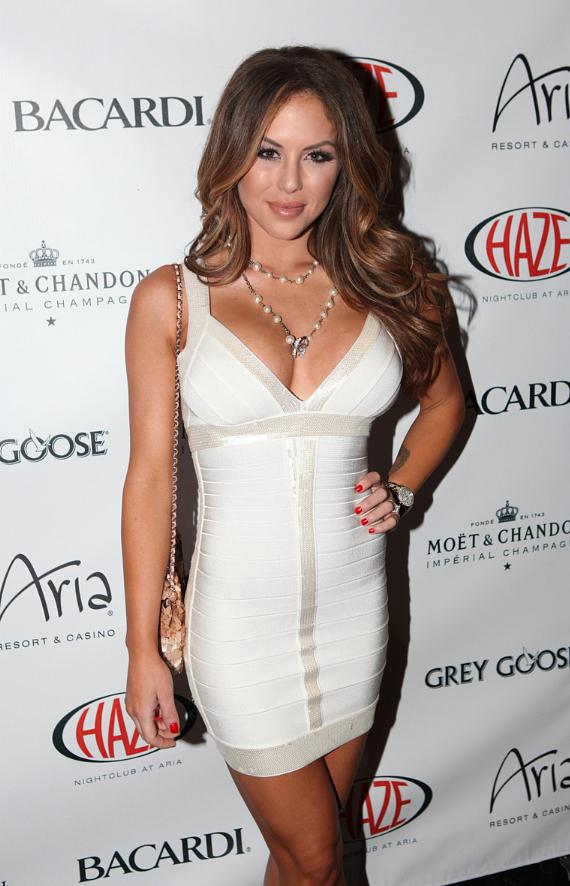 Brittney Palmer and Arianny Celeste at HAZE in ARIA