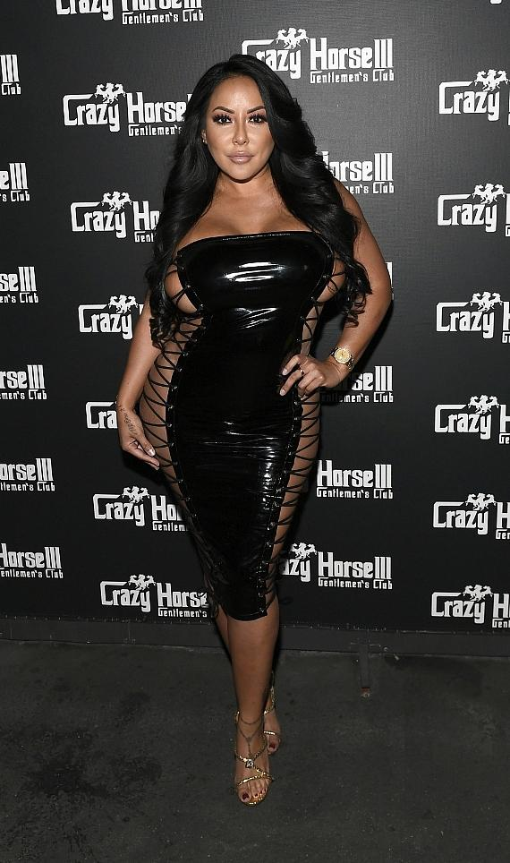 Adult Film Star Kiara Mia Hosts Party at Crazy Horse 3 in Las Vegas