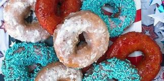 """""""Land of the Free, Home of the Glazed"""" Donut Assortment at Fractured Prune in Las Vegas"""