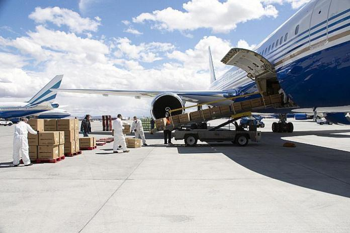 Two Million Surgical Masks Donated by Las Vegas Sands Arrive in New York, Nevada