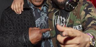 Mike Tyson and NFL Standouts Kareem Martin, Gabe Martin and Deone Buchanan Join in on Revelry at Drai's Nightclub in Las Vegas