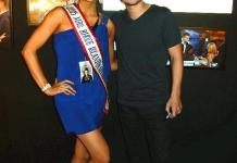 "Mrs. Rhode Island America attends ""Mat Franco - Magic Reinvented Nightly"" at The LINQ Hotel & Casino"