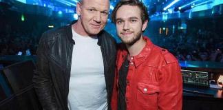 Gordon Ramsay Celebrates the Opening of Hell's Kitchen at OMNIA Nightclub's Official Grand Opening After-Party