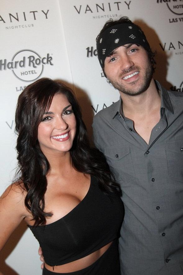 Paige Duke and Jeremiah James at Hard Rock Hotel & Casino in Las Vegas