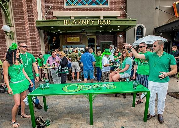 O'Sheas BLOQ Party at The LINQ Continues its Reign as Las Vegas' Ultimate St. Patrick's Day Celebration