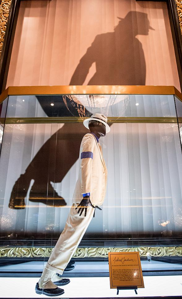 """Legendary Michael Jackson Costume from """"Smooth Criminal"""" Unveiled at Michael Jackson One Theater at Mandalay Bay Las Vegas"""