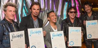 "Clark County welcomes Journey with ""Open Arms"" by declaring April 29, 2015 as Journey Las Vegas Day"