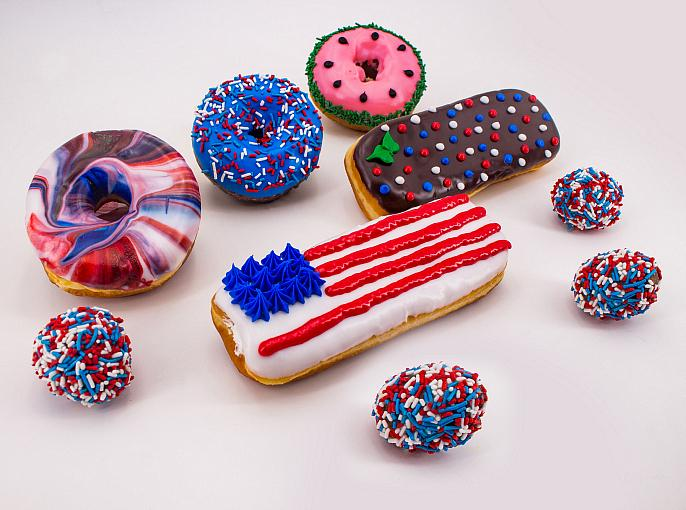 Sparks will Fly this July at Pinkbox Doughnuts with  New Summer Treats and Doughnut of the Month