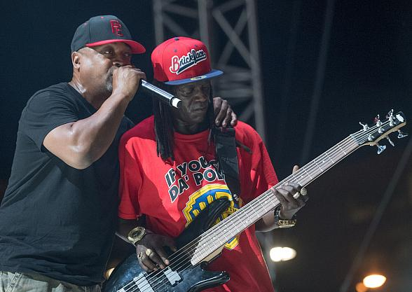 """Flavor Flav, Kurtis Blow, Naughty by Nature, Public Enemy and more at """"Art of Rap"""" Music Festival at Downtown Las Vegas Events Center"""