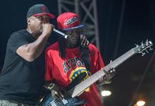 "Flavor Flav, Kurtis Blow, Naughty by Nature, Public Enemy and more at ""Art of Rap"" Music Festival at Downtown Las Vegas Events Center"