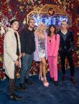 R5 at the Mott 32 grand opening at The Venetian Resort Las Vegas