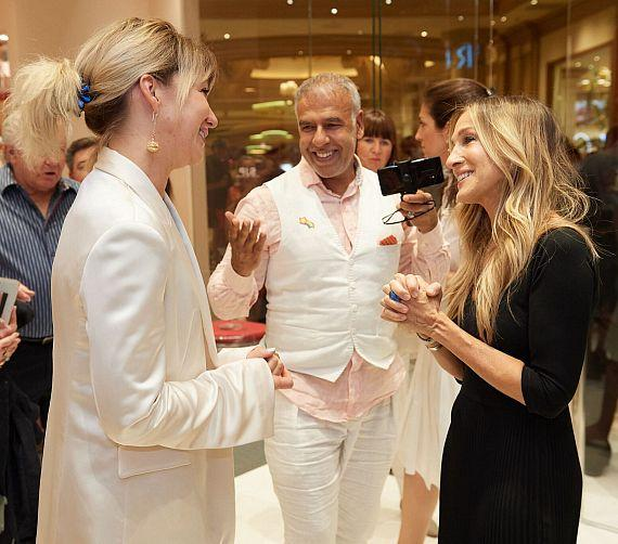 Sarah Jessica Parker Visits Her Boutique at Bellagio Resort & Casino in Las Vegas