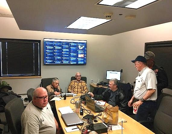 Local Amateur Radio Operators Support SKYWARN Recognition Day in Las Vegas