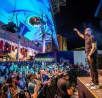 Sugar Ray performs during Downtown Rocks on Fremont Street Experience
