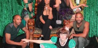 """Tamar Braxton and Jeannie Mai of """"The Real"""" Attend ABSINTHE at Caesars Palace"""