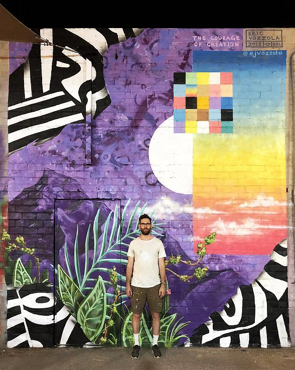 """First Friday Urges All to """"Gather"""" Together This November; Featured Artist Is Eric Vozzola, Known for His Vibrant Color Palettes"""