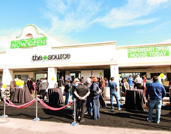 The+Source Medical Marijuana Dispensary Celebrates Grand Opening with Open House