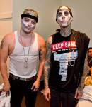 Mix Master Mike and Travis Barker at PURE Nightclub