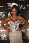 Kelis on red carpet at Tryst Nightclub