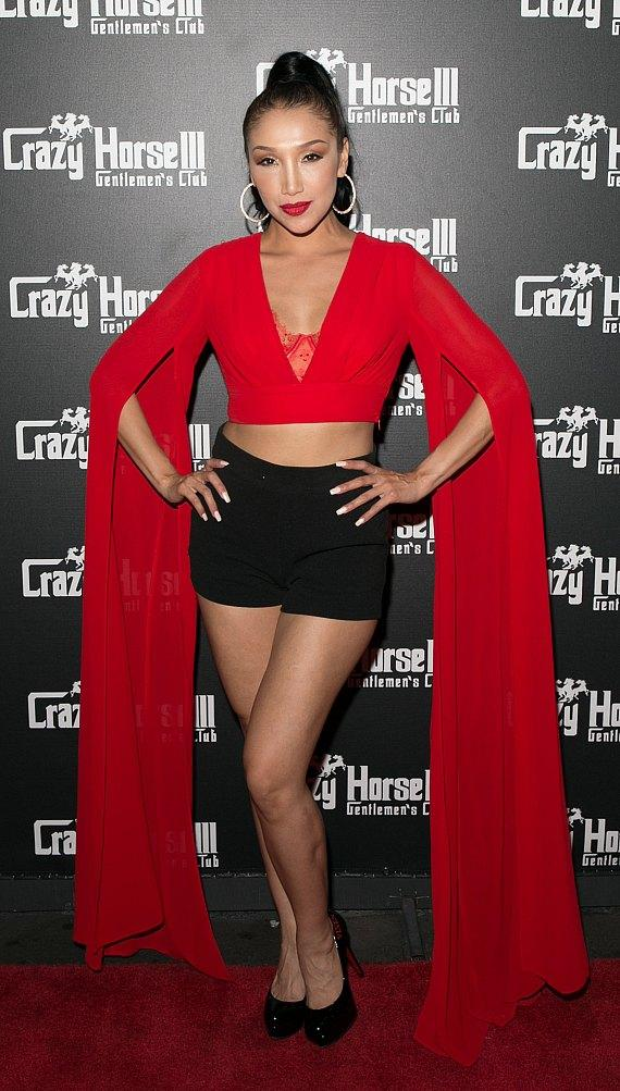Adult Film Star Vicki Chase Hosts Mexican Independence Day Party at Crazy Horse 3 in Las Vegas