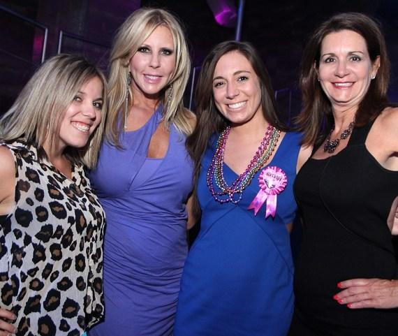 Vicki Gunvalson Parties at Moon Nightclub in Palms Casino Resort