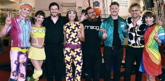 """Rock Band 'Walk the Moon' Attends """"The Beatles Love by Cirque DU Soleil"""""""