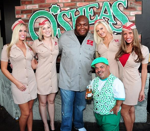 Miller High Life Girls, Wendell Middlebrooks and Brian Thomas