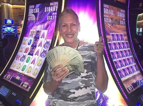 $779,384 Jackpot Winner on Buffalo Grand Game at Terrible's Road House Casino in Pahrump
