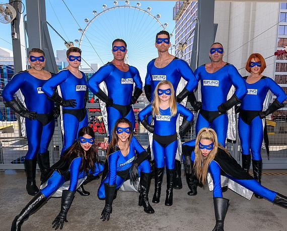 Fly into the New Year with the FLY LINQ Zipline at The LINQ Promenade in Las Vegas