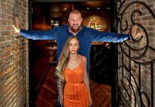 "Game of Thrones' ""The Mountain"" and Famous Friends Turn Heads at the D Casino Hotel"