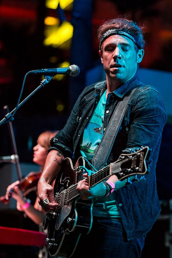 The Airborne Toxic Event Perform at SOUNDWAVES at Hard Rock Hotel & Casino