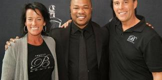 Bonita partners Anette Brown, Xzibit, and CEO Chris Brown