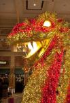 Giant Illuminated Dragon at The Forum Shops at Caesars Heralds the Upcoming Chinese New Year
