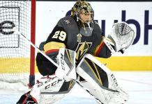 Vegas Golden Knights Goaltender Marc-Andre Fleury Named NHL's Second Star of the Week