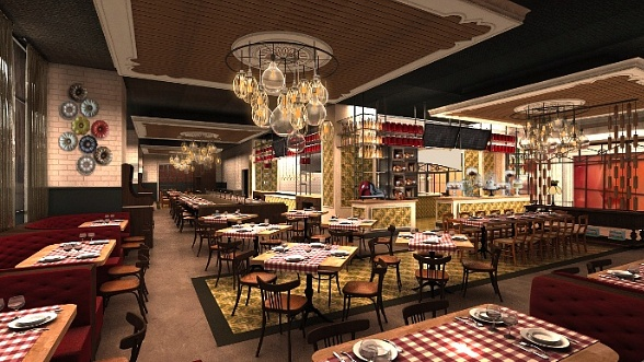 Buddy V's Ristorante Set to Open October 7 Inside Grand Canal Shoppes at Venetian|Palazzo