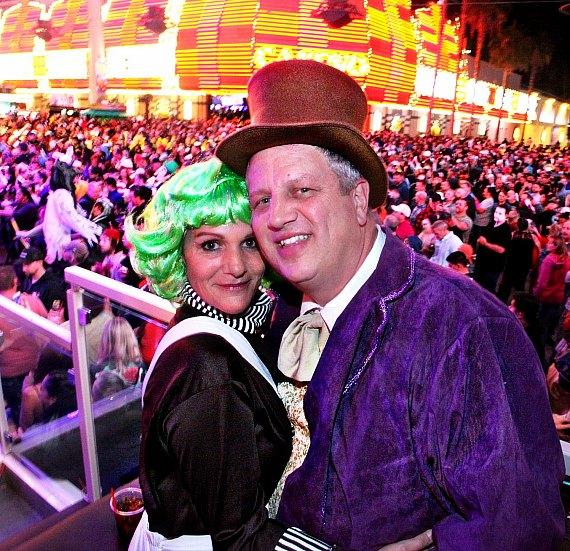 Halloween Celebration Recap That Hit Downtown Las Vegas