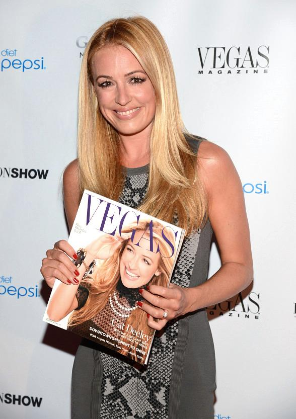 Vegas Magazine Celebrates September Fall Fashion Issue with Cover Star Cat Deely