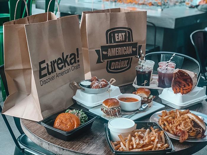 Eureka! Keeps Doors Open for Takeout and Delivery