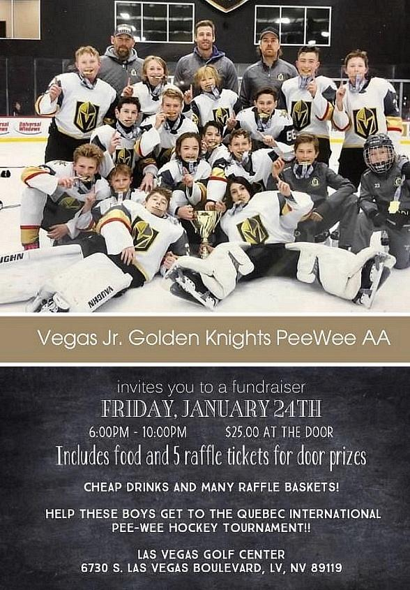 Support the Pee Wee AA Journey to the Quebec International Tournament