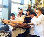 """PINUP"" star Claire Sinclair celebrates Birthday at STK in Las Vegas"
