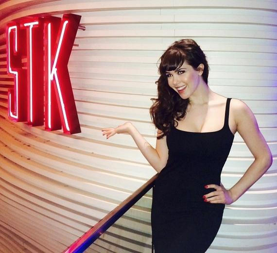 """""""PINUP"""" star Claire Sinclair celebrates Birthday at STK in Las Vegas"""