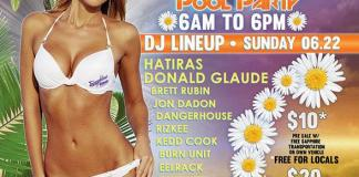 """""""Pasties and Pastries"""" Festival After Party at Sapphire Pool and Day Club, Sunday, June 22"""