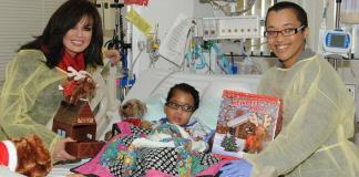 Marie Osmond Donates Toys to Kids at UMC's Children's Hospital Of Nevada